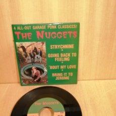 Discos de vinilo: THE NUGGETS. STRYCHNINE, ETC EP.. Lote 206750958