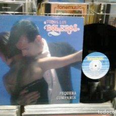 Discos de vinilo: LMV - PEQUEÑA COMPAÑIA. TODOS LOS BOLEROS. FONOMUSIC 1991, REF. 89.2985 -- LP. Lote 206752513