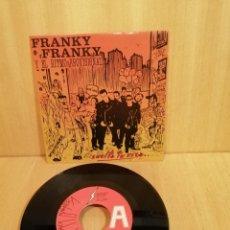 Discos de vinilo: FRANKY FRANKY Y EL RITMO PROVISIONAL. SUELTA TU RISA, ESTUDIAS O DISEÑAS?. Lote 206754058