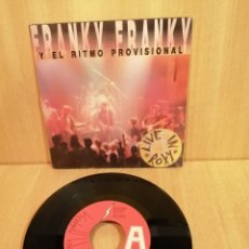 Discos de vinilo: FRANKY FRANKY Y EL RITMO PROVISIONAL. LIVE IN ROXY. EP.. Lote 206756090