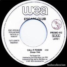 "Discos de vinilo: ESCAPE CLUB / R.E.M. SPLIT 7"" . POP ROCK AND ROLL MICHAEL STIPE PETER BUCK INDIE. Lote 206768061"