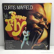 Discos de vinilo: LP - DISCO - VINILO - CURTIS MAYFIELD - SUPER FLY - CON PLÁSTICO ORIGINAL - AÑO 1988. Lote 206770896