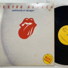 Discos de vinilo: MAXI SINGLE THE ROLLING STONES UNDERCOVER OF THE NIGHT EDICIÓN ESPAÑOLA DE 1983. Lote 206771150