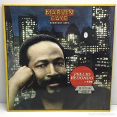 Discos de vinilo: LP - DISCO - VINILO - MARVIN GAYE - MIDNIGHT LOVE - CBS - AÑO 1982. Lote 206771938