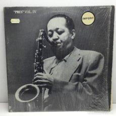 Discos de vinilo: LP - DISCO - VINILO - LESTER YOUNG IN WASHINGSTON - 1965 - PABLO LIVE - AÑO 1981. Lote 206772822