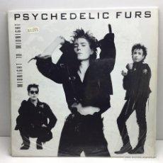 Discos de vinilo: LP - DISCO - VINILO - THE PSYCHEDELIC FURS - MIDNIGHT TO MIDNIGHT - CBS - AÑO 1986. Lote 206773567