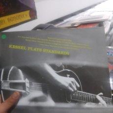 Discos de vinilo: LP VG++/EX BARNEY KESSEL KESSEL PLAYS STANDARDS. BARNEY KESSEL, VOL. 2. Lote 206778721