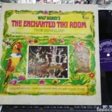Discos de vinilo: WALT DISNEY'S LP CON LIBRETO THE ENCHANTED TIKI ROOM AND THE ADVENTUROUS JUNGLE CRUISE U.S.A. 1968. Lote 206780538