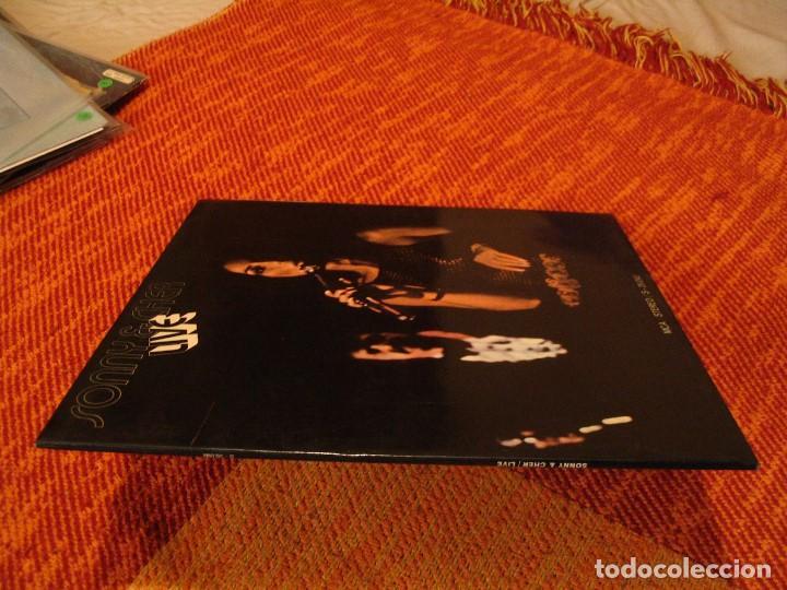 Discos de vinilo: SONNY & CHER LP LIVE MCA ORIGINAL ESPAÑA 1972 DESPLEGABLE LAMINADA - Foto 5 - 206783880
