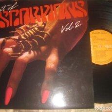 Discos de vinilo: SCORPIONS ' BEST OF SCORPIONS VOL. 2 (1984 - RCA) OG ESPAÑA SIN SEÑALES DE USO. Lote 206784622