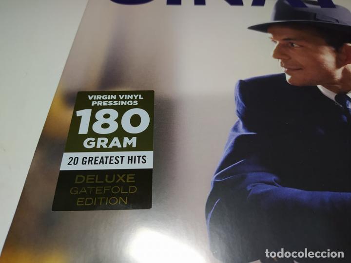 Discos de vinilo: LP - Frank Sinatra – The Hits - 10101 - 20 Temas - Edicion De Lujo - Carpeta ( Nuevo! ) - Foto 2 - 206784788