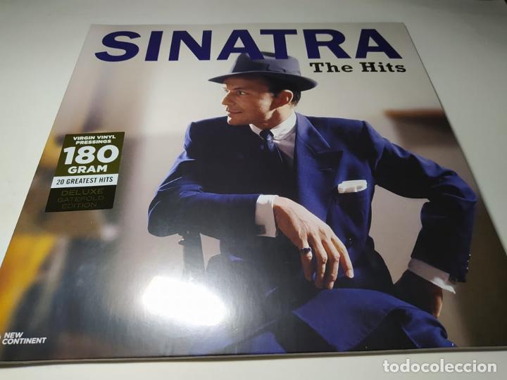LP - FRANK SINATRA – THE HITS - 10101 - 20 TEMAS - EDICION DE LUJO - CARPETA ( NUEVO! ) (Música - Discos - LP Vinilo - Pop - Rock Extranjero de los 50 y 60)