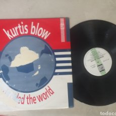 Discos de vinilo: KURTIS BLOW IF RULED THE WORLD. Lote 206787953