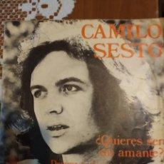 Discos de vinil: CAMILO SEXTO. ¿QUIERES SER MI AMANTE?. Lote 206788397