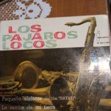 Discos de vinilo: LOS PÁJAROS LOCOS. PEQUEÑO ELEFANTE EP. Lote 206792266
