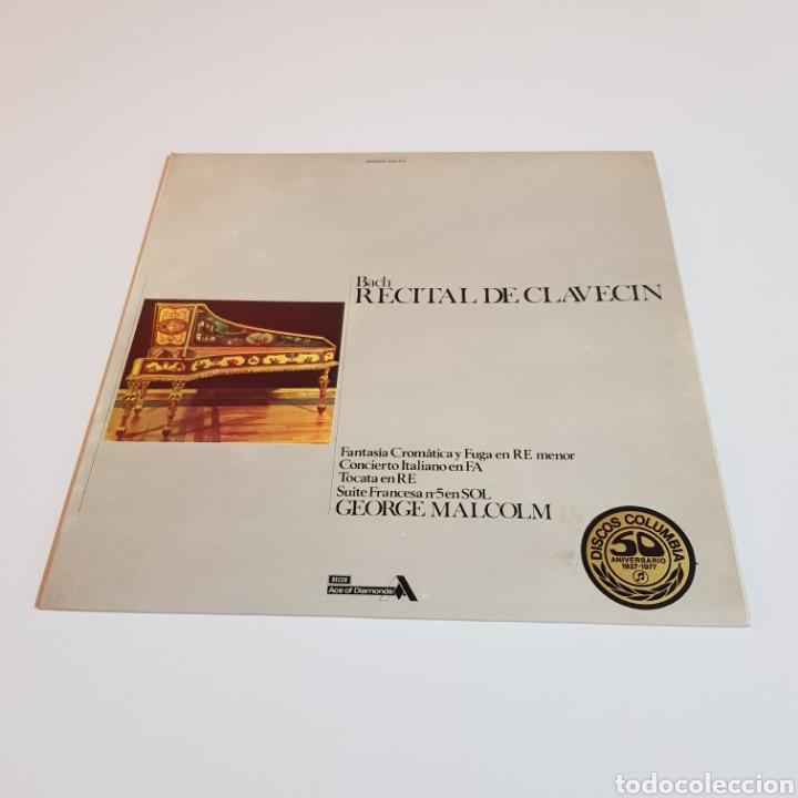 Discos de vinilo: BACH - RECITAL DE CLAVECIN - Foto 5 - 206794680