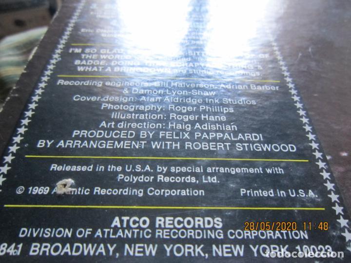 Discos de vinilo: CREAM - GOODBYE LP - ORIGINAL U.S.A. -ATCO RECORDS 1969 - GATEFOLD COVER Y FUNDA INT. GENERICA - Foto 4 - 206794866