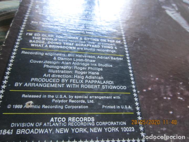 Discos de vinilo: CREAM - GOODBYE LP - ORIGINAL U.S.A. -ATCO RECORDS 1969 - GATEFOLD COVER Y FUNDA INT. GENERICA - Foto 5 - 206794866