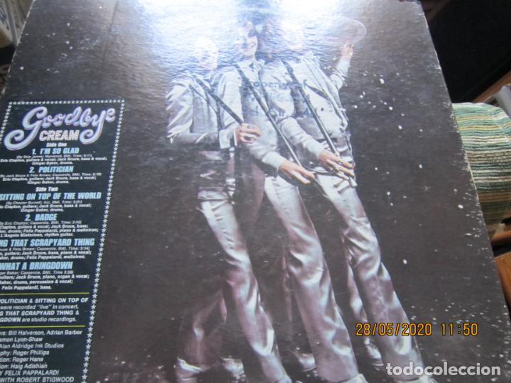 Discos de vinilo: CREAM - GOODBYE LP - ORIGINAL U.S.A. -ATCO RECORDS 1969 - GATEFOLD COVER Y FUNDA INT. GENERICA - Foto 16 - 206794866