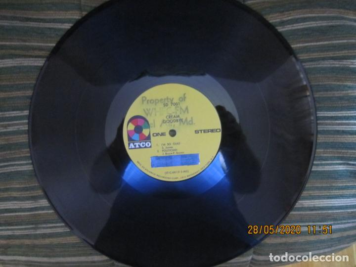 Discos de vinilo: CREAM - GOODBYE LP - ORIGINAL U.S.A. -ATCO RECORDS 1969 - GATEFOLD COVER Y FUNDA INT. GENERICA - Foto 19 - 206794866