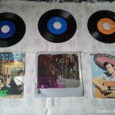 Discos de vinilo: ANTIGUO LOTE DE DISCOS DE LOS DIABLOS, LOS MITOS Y PALITO ORTEGA. DECADAS 69, 70. Lote 206795932