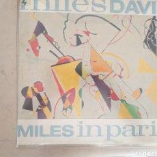 Discos de vinilo: MILES DAVIS MILES IN PARIS. Lote 206798675