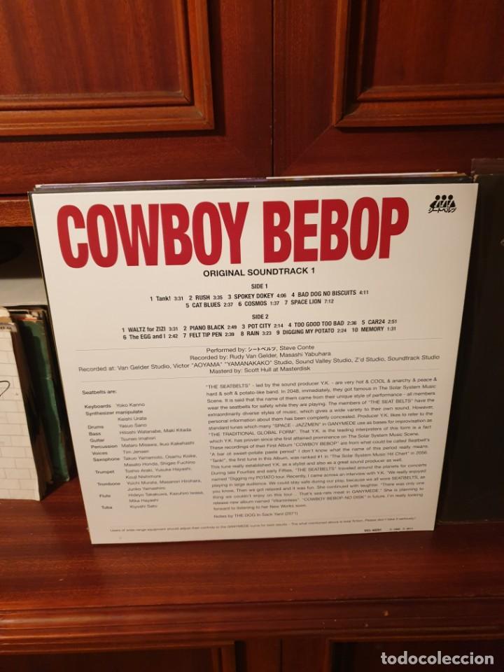 Discos de vinilo: THE SEATBELTS / COWBOY BEBOP / NOT ON LABEL 2016 - Foto 2 - 206801500