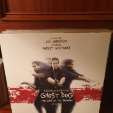 Discos de vinilo: GHOST DOG / BANDA SONORA / DOBLE ALBUM / NOT ON LABEL. Lote 206801698