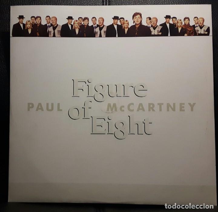 PAUL MCCARTNEY - BEATLES - FIGURE OF EIGHT - MAXISINGLE - ITALIA - RARO - EXCELENTE - NO CORREOS (Música - Discos de Vinilo - Maxi Singles - Pop - Rock Extranjero de los 50 y 60)