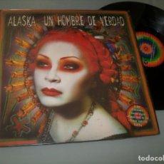 Discos de vinilo: ALASKA EL HURACAN MEXICANO ... UN HOMBRE DE VERDAD - 3 VERSIONES - 1998 .PUMPIN´DOLLS.MAXISINGLE -. Lote 206806595