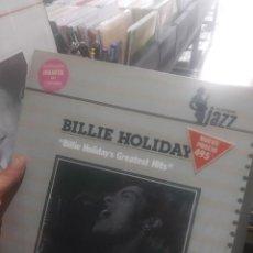 Discos de vinilo: LP BILLIE HOLIDAY GRESTEST HITS VG++. Lote 206808855