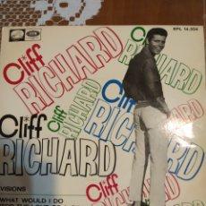Discos de vinilo: CLIFF RICHARD. VISIONS. EP. Lote 206810447