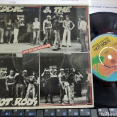 Discos de vinilo: EDDIE AND THE HOT RODS EP 96 TEARS + 2 1976. Lote 206814572