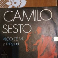 Discos de vinilo: CAMILO SEXTO. ALGO DE MI .. Lote 206820712