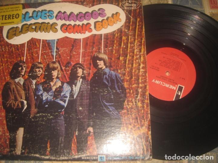 THE BLUES MAGOOS - ELECTRIC COMIC BOOK - MONO MG 21104 (MERCURY-1967) OG USA USA 53 AÑOS (Música - Discos - LP Vinilo - Pop - Rock Extranjero de los 50 y 60)