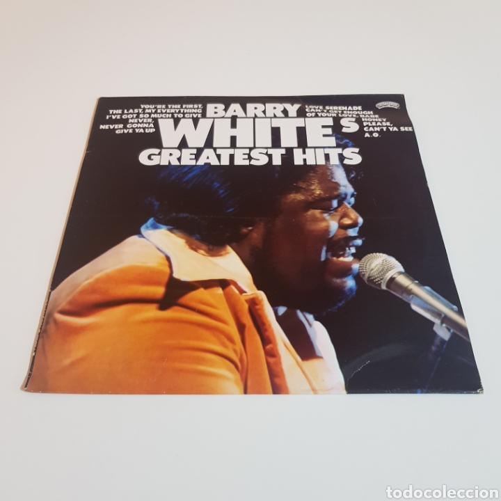 Discos de vinilo: BARRY WHITE - GREATEST HITS - Foto 6 - 206823162
