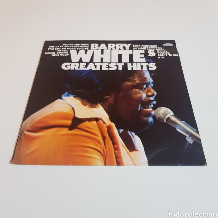 BARRY WHITE - GREATEST HITS (Música - Discos - LP Vinilo - Funk, Soul y Black Music)