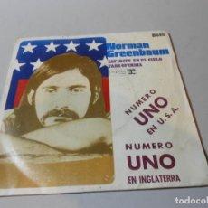 Discos de vinilo: NORMAN GREENBAUM - ESPIRITU EN EL CIELO - TARS OF INDIA. Lote 206823762