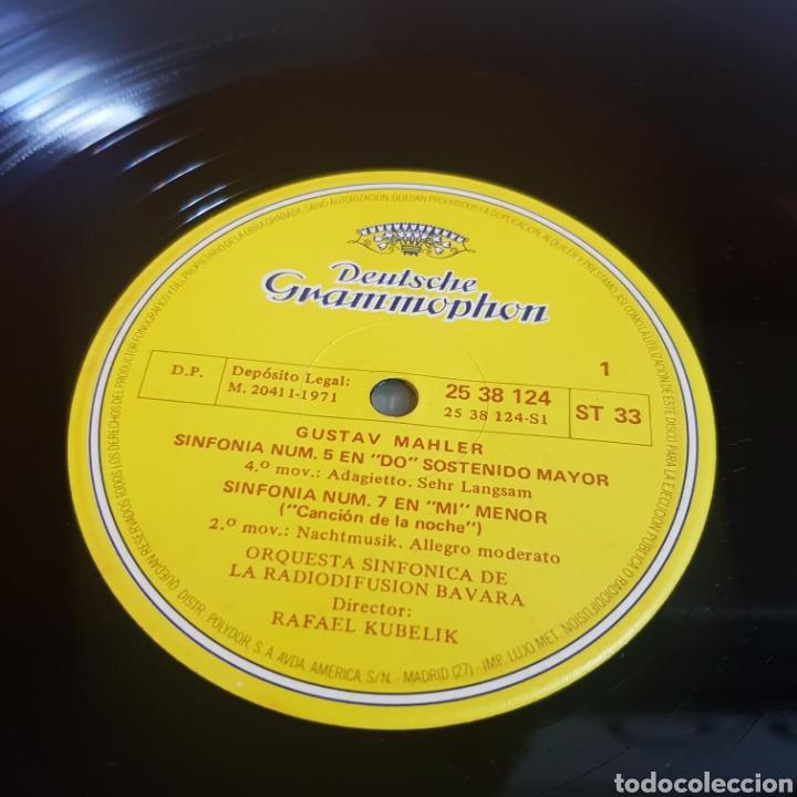 Discos de vinilo: MUERTE EN VENECIA - GUSTAV MALHER : ADAGIETTO ( SYMPH N° 5 ) MISTERIOSO ( SYMPH N° 3 ) - Foto 3 - 206823818