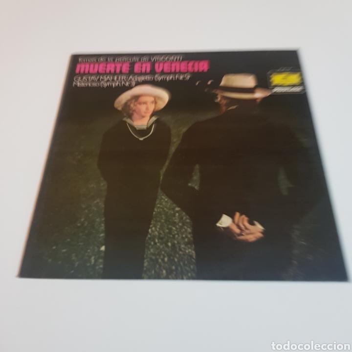 MUERTE EN VENECIA - GUSTAV MALHER : ADAGIETTO ( SYMPH N° 5 ) MISTERIOSO ( SYMPH N° 3 ) (Música - Discos - LP Vinilo - Bandas Sonoras y Música de Actores )