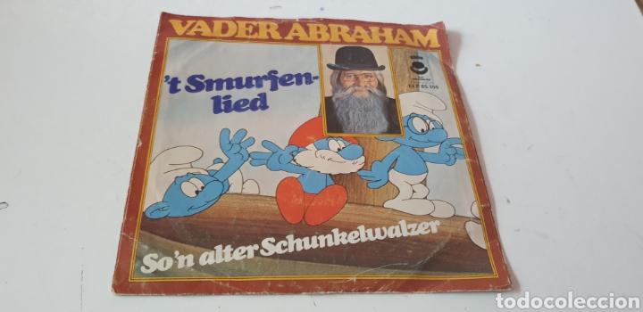 VINILO VADER ABRAHAM T SMURFER-LIED SON ALTER SCHUNKELWALZER (Música - Discos - Singles Vinilo - Música Infantil)