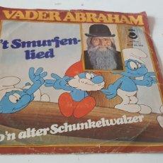 Discos de vinilo: VINILO VADER ABRAHAM T SMURFER-LIED SON ALTER SCHUNKELWALZER. Lote 206824888