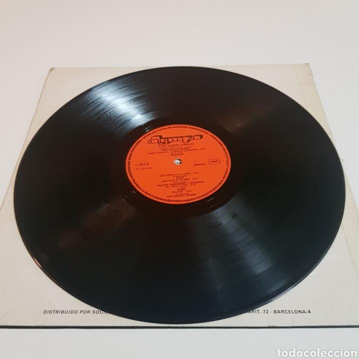 Discos de vinilo: CON SABOR CUBANO 1977 LP OLYMPO - Foto 5 - 206826801