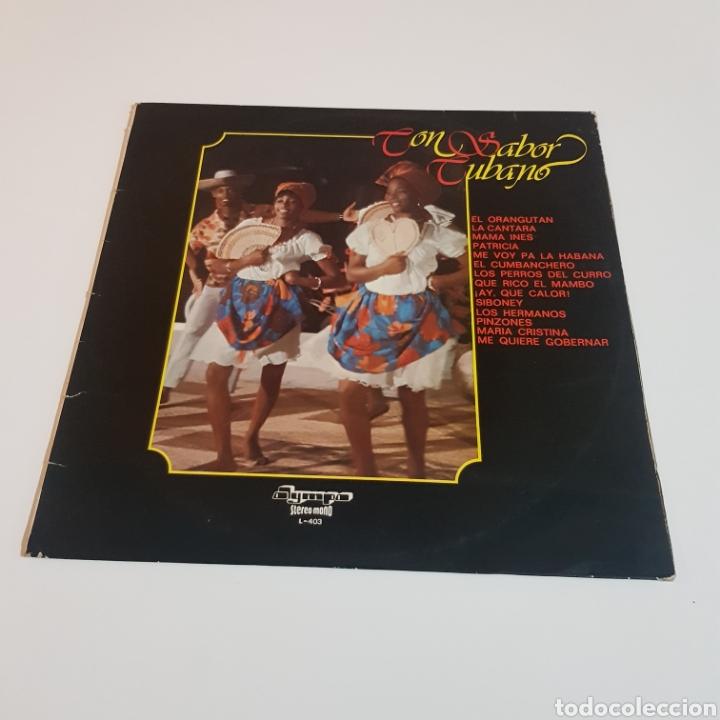 CON SABOR CUBANO 1977 LP OLYMPO (Música - Discos - LP Vinilo - Grupos y Solistas de latinoamérica)