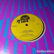 Discos de vinil: MAXI - BARRINGTON LEVY – HERE I COME - TR009 (VG+ / GENERICO). Lote 206826910