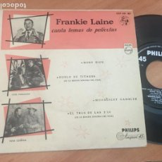 Discos de vinilo: FRANKIE LAINE (MOBY DICK +3) EP ESPAÑA 1958 (EPI18). Lote 206827691