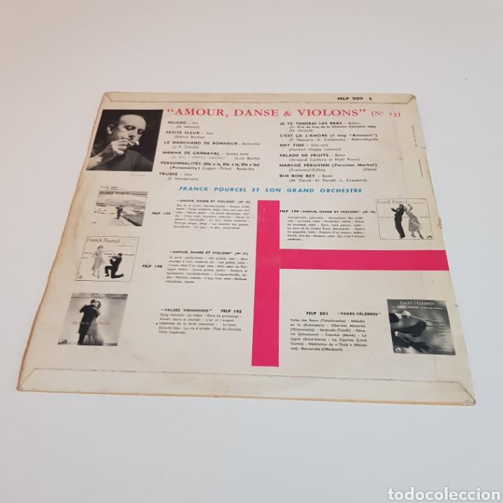 Discos de vinilo: FRANCK POURCEL ET SON GRAND ORCHESTRE - AMOUR DANCE ET VIOLONS - Foto 2 - 206830375