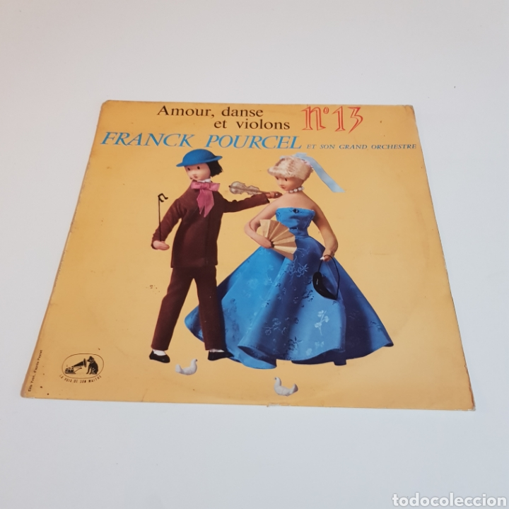 FRANCK POURCEL ET SON GRAND ORCHESTRE - AMOUR DANCE ET VIOLONS (Música - Discos - LP Vinilo - Orquestas)