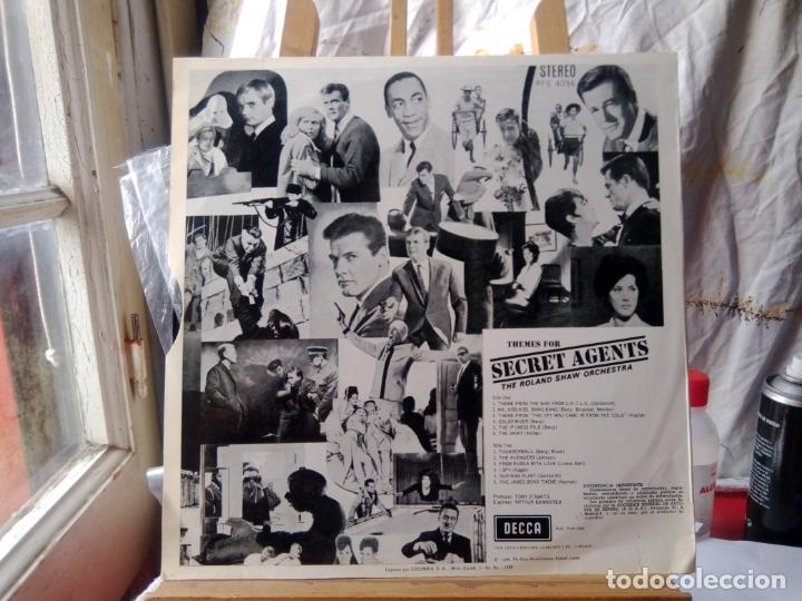 Discos de vinilo: ROLAND SHAW ORQUESTA THEME FOR SECRET AGENTS - Foto 2 - 206837350