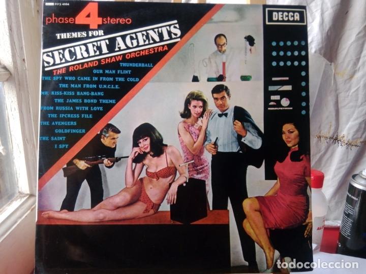 ROLAND SHAW ORQUESTA THEME FOR SECRET AGENTS (Música - Discos - LP Vinilo - Orquestas)
